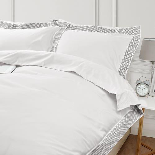 MADISON - Reiner Bamwollsateen in220 Fäden Webdichte -Bettdeckenbezug